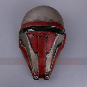 Star Wars Darth Revan Mask Cosplay Helmet Masks Adult Latex Halloween Party Prop - bfjcosplayer