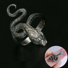Load image into Gallery viewer, Ring Dark Souls 3 Covetous Silver Serpent Metal Rings Dark Souls Equipment Cosplay Ring Accessories Woman Man Ring High Quality - bfjcosplayer