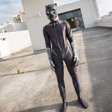 Load image into Gallery viewer, 2018 Movie Black Panther Costume Jumpsuit Black Panther Cosplay Superhero Black Panther Zentai Suit New - bfjcosplayer