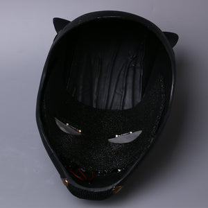Black Panther Cosplay LED Glod PVC Helmet Halloween Party Props - bfjcosplayer