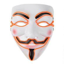Load image into Gallery viewer, Halloween Mask EL Wire Funny Masks The Purge Election Year Great Festival Cosplay Costume Supplies Party Masks Glow In Dark - bfjcosplayer