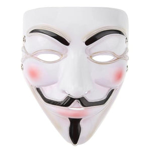 Halloween Mask EL Wire Funny Masks The Purge Election Year Great Festival Cosplay Costume Supplies Party Masks Glow In Dark - bfjcosplayer