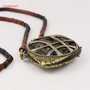 2016 Marvel Movie Cosplay Doctor Strange Necklaces Steve Halloween Costume Alloy Necklaces  Prop - bfjcosplayer