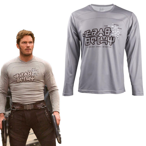 Star Lord T-Shirts Avengers Infinity War Guardians of the Galaxy Costume Superhero Peter Jason Quill T-Shirts - bfjcosplayer