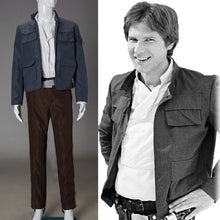 Load image into Gallery viewer, Cosplay Star Wars Costume Han Solo Halloween Full Set Party Halloween Costume - bfjcosplayer