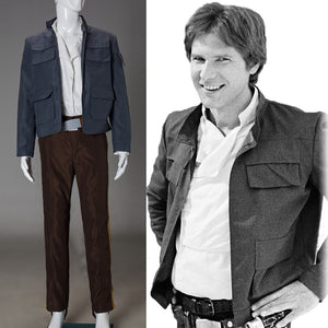 Cosplay Star Wars Costume Han Solo Halloween Full Set Party Halloween Costume - bfjcosplayer