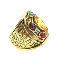 Load image into Gallery viewer, Avengers Infinity War Thanos Infinity Gauntlet Power Cosplay Alloy Ring - bfjcosplayer