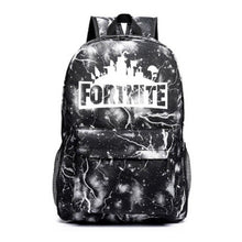 Load image into Gallery viewer, Game Fortnite Backpack for Students School Bag Travel Bag Luminous Cosplay Accessories Adult Kids Unisex Halloween Party Props - bfjcosplayer