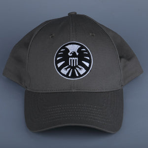 New Captain Marvel Carol Danvers Caps Unisex Adjustable Hip Hop Sun Hat Snapback Agents of S.H.I.E.L.D. Shield Baseball Caps - bfjcosplayer