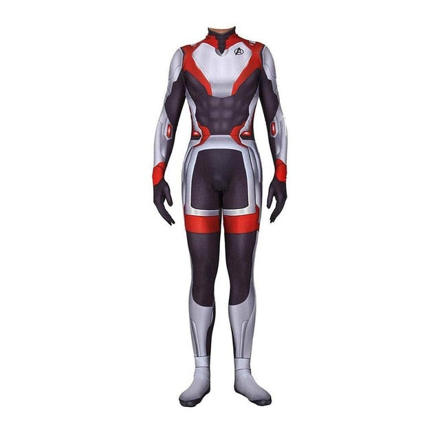 2019 New Avengers Endgame Quantum Realm Jumpsuit Spandex Zentai Tights Costume Advanced Tech Cosplay Costumes - bfjcosplayer
