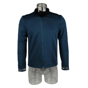 Star Trek Discovery Season 2 Starfleet Captain Kirk Uniform A Set of Shirt Pants Badge Costumes Men Top Adult Cosplay Costume - bfjcosplayer
