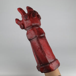 Hellboy: Rise of the Blood Queen Glove Right Hand Cosplay Gloves Accessories Armor Latex Hand Gauntlet Party Halloween - bfjcosplayer