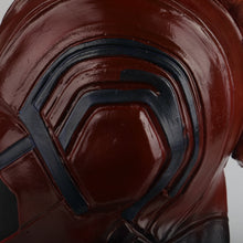 Load image into Gallery viewer, Captain Marvel Helmet Cosplay Prop Mask for Halloween Red with Yellow hair Latex Mask Halloween Cosplay Costume Prop - bfjcosplayer