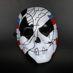 The Punisher 2 Billy Russo Cosplay Mask Plastic Costume Props Halloween Masquerad Mask Unisex Adult Coser - bfjcosplayer