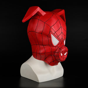 Anime Spider-Man Latex Mask Mascara Spiderman Face Superhero Mask Party Prop Halloween Adult Costume - bfjcosplayer