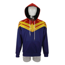 Load image into Gallery viewer, 3D Printed Captain Marvel Carol Danvers Ms Marvel Costumes Hoodies Sweatshirts Tracksuit Casual Zipper Hooded Jacket Clothing - bfjcosplayer