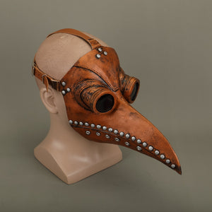 Steampunk Plague Doctor Mask Latex Bird Beak Doctor Mask Long Nose Masks Cosplay Costume Funny Face Wear Halloween Party New - bfjcosplayer