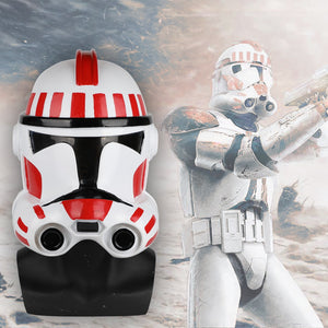 Star Wars Clone Troopers Helmet Star wars Dressed Cosplay Solider Helmet PVC Mask Halloween Props - bfjcosplayer