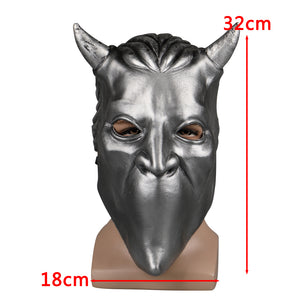 Ghost Nameless Ghoul Mask Cosplay Ghost B.C Rock Roll Band Latex Helmet Masks Halloween Party Props DropShipping - bfjcosplayer