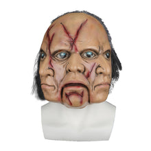 Load image into Gallery viewer, Halloween Masks Latex Party Horrible Scary Prank Three Faces Horror Mask Fancy Dress Cosplay Costume Mask Masquerade - bfjcosplayer
