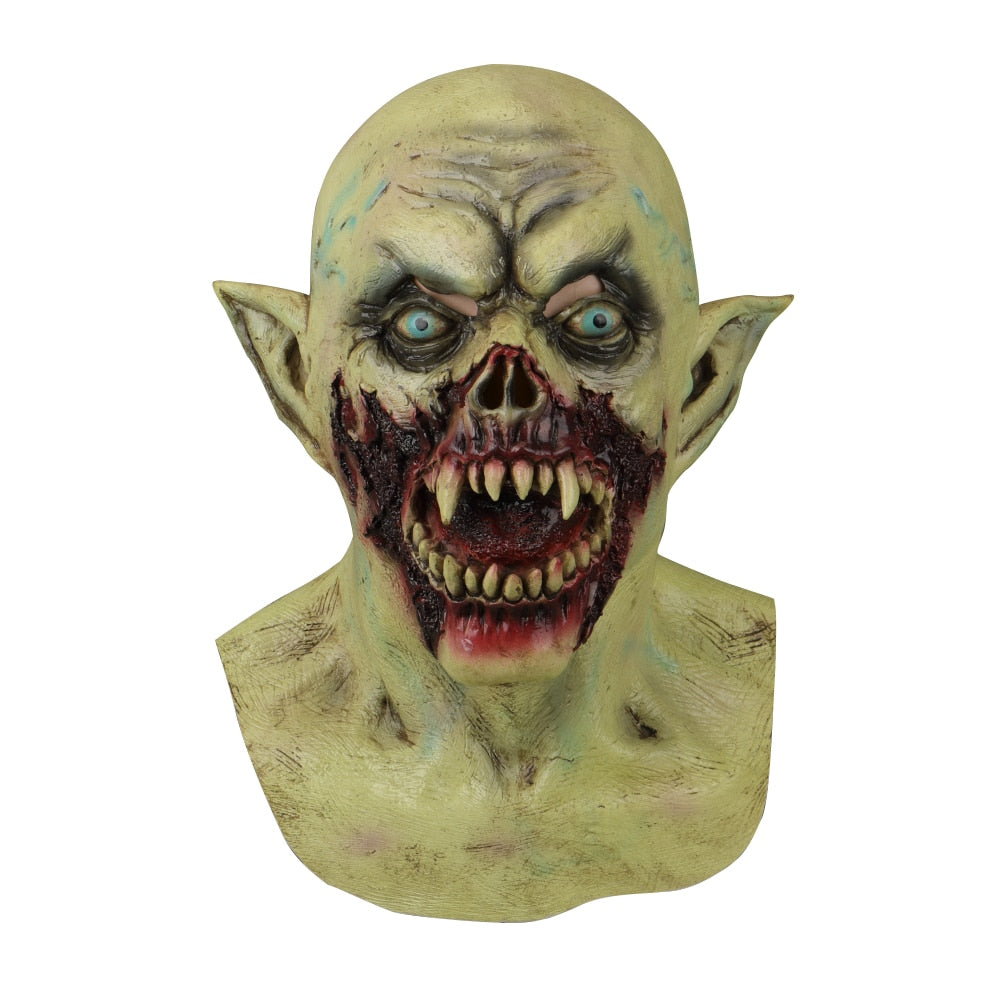 Halloween Masks Latex Party Horrible Scary Prank Bloody Horror Mask Fancy Dress Cosplay Costume Mask Masquerade - bfjcosplayer