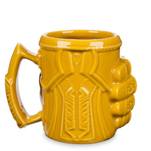 Load image into Gallery viewer, The Avengers Cosplay Thanos Gloves Fist Coffee Mugs Anime Cups and Mugs Cool Plastic Infinity Gem Mark Cartoon Drinkware - bfjcosplayer
