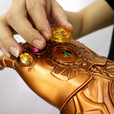 Avengers: Endgame Thanos Infinity Gauntlet Gloves Stone Movable Led Light Infinity War Glove Avengers Thanos Glove Hand Wear - bfjcosplayer