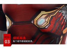 Load image into Gallery viewer, Avengers: Endgame Iron Man Tony Stark T-shirt MK50 Cosplay Costumes Men Tights Sports Fast-dry Love You Three Thousands Times - bfjcosplayer