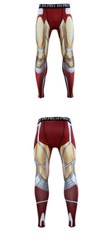 Load image into Gallery viewer, Avengers: Endgame Costume Iron Man Tony Stark Pants Cosplay Costumes Top Men Tights Sports Love You Three Thousands Times - bfjcosplayer