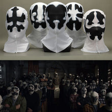 Load image into Gallery viewer, American TV Watchmen Cosplay Rorschach Walter Kovacs Masks Headgear Printing Full Face Mask Halloween Cosplay Accessories Props - bfjcosplayer