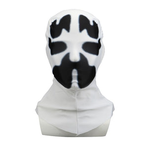 American TV Watchmen Cosplay Rorschach Walter Kovacs Masks Headgear Printing Full Face Mask Halloween Cosplay Accessories Props - bfjcosplayer