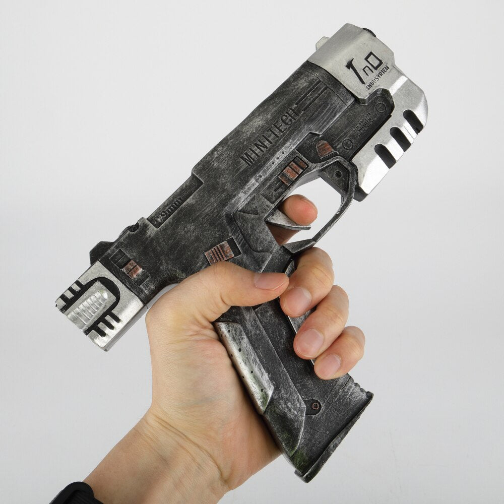 Cyber punks 2077 Game Cosplay Weapons Gun Toys  Cosplay RPG V Minitech Accessories Fans Souvenir Halloween Party Prop - bfjcosplayer