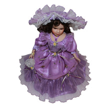 Load image into Gallery viewer, Purple Victoria Europe Ornaments  Figure Model Doll Toys Child Gift Cute Princess Europe Handicrafts
