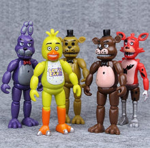 Load image into Gallery viewer, Five Nights at Freddy's Ornaments  Figure Model Doll Toys Child Gift Cute Set of 5 dolls