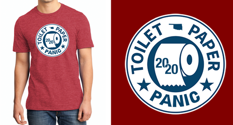 Toilet Paper Panic Limited edition tee