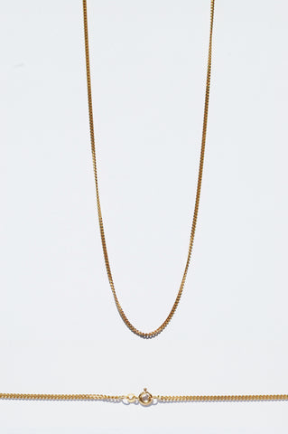 Vintage Gold Necklace №4