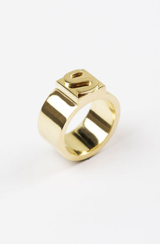Block Ring C (personalizable)