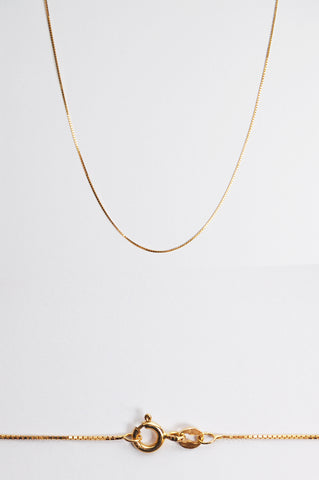 Vintage Gold Necklace № 3