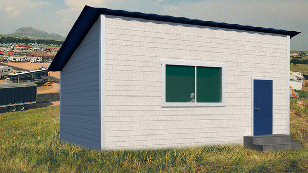 New - Cabins with bathrooms