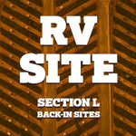 Full Service RV Site - 2021 - Section L