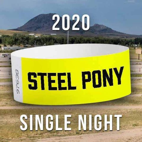 Single Night Wristband - 2020