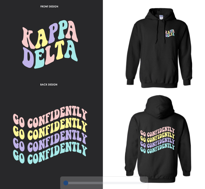 UCLA - Kappa Delta - Fall 2020 Apparel - Sweatshirt