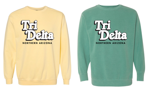 NAU Tri Delta - Spring 2020 - Northern Arizona Sweatshirts