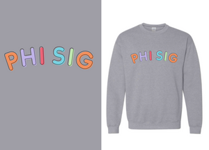 Miami University-Oxford - Phi Sigma Sigma - Fall PR 2020 - Sweatshirt