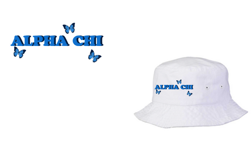 Northeastern University - Alpha Chi Omega - Spring PR 2021 - BUCKET HAT