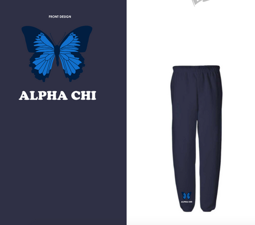 Northeastern University - Alpha Chi Omega - Spring PR 2021 - Sweatpants