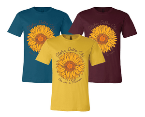 Georgia Southern University Alpha Delta Chi Sunflower Tee