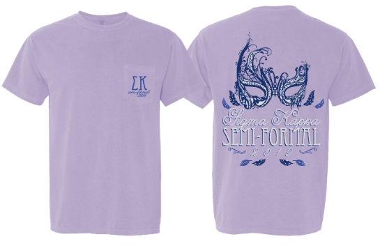 University of Memphis- Sigma Kappa- Semi Formal Shirt