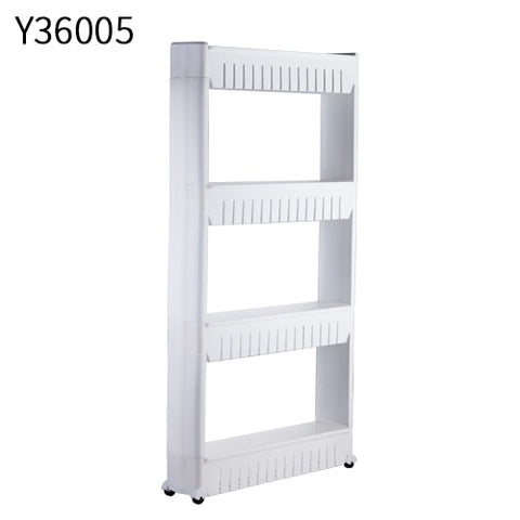 Image of Multipurpose Kitchen Shelf with Removable Wheels Crack