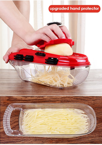 7 Blades Mandoline Slicer Vegetable Cutter Kitchen Accessories